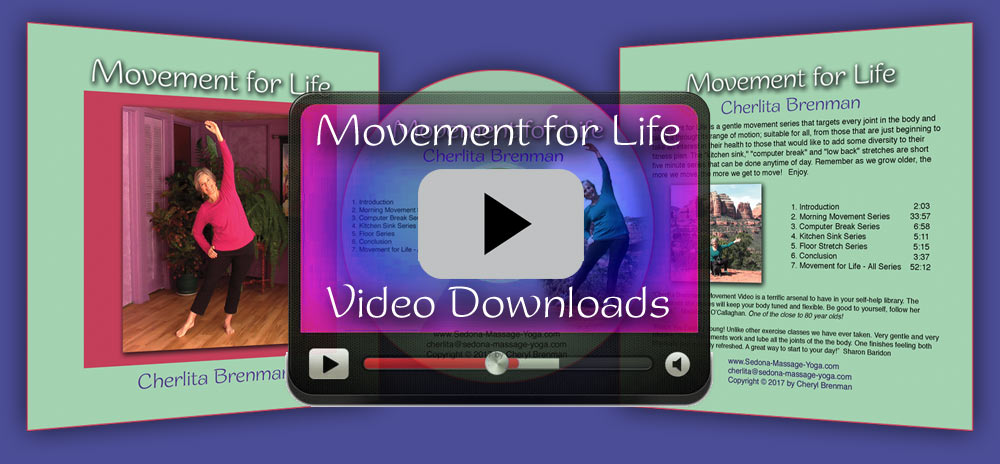Sedona Yoga Video Downloads - Movement for Life Series
